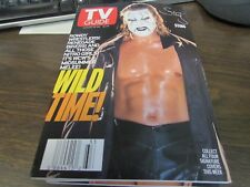 VINTAGE - TV GUIDE AUG 14TH 1999 - WCW'S MIDSUMMER MELEE - STING  - COVER