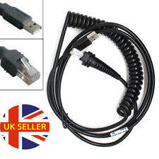USB 10ft 3M Coiled Cable for Honeywell Scanners MS7120 MS9540 MS5145