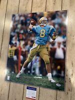 Troy Aikman Autographed/Signed 16x20 Photo COA UCLA Bruins Dallas Cowboys