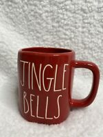 ** NEW ** Rae Dunn JINGLE BELLS Red Glossy Christmas Holiday Mug 2020