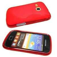 caseroxx TPU-Hülle für Samsung S6500 Galaxy Mini 2 in rot aus TPU