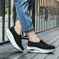 Women's Casual Platform Running Walking Shoes Sports Athletic Sneakers VICT