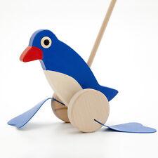 Watschel Pinguin Schiebefigur Holzspielzeug Kinderspielzeug Holz laufen lernen