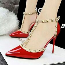 RIVET FASHION WOMEN HIGH HEELS NEW!! HOT SHOES!!!!