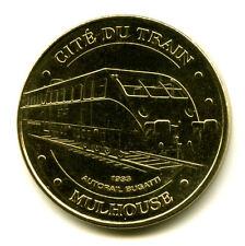 68 MULHOUSE Cité du train, Autorail Bugatti, 2009, Monnaie de Paris