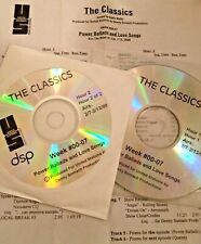 RADIO SHOW: THE CLASSICS 2/7/00 LOVE SONGS; GENESIS, POLICE, BEATLES, JOHN WAITE