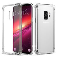 Clear TPU Bumper Case Shockproof Soft CrystalFor Samsung Galaxy S8/9 Plus Note 8