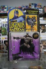 ERROR CARD Legends of Batman Power Guardian Batman on Catwoman Card Shows Wear