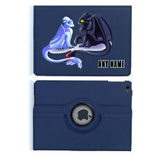Dragon Train 03 Name Personalised iPad 360 Rotating Case Cover Birthday Present