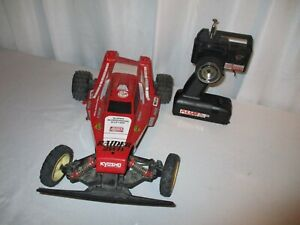 Kyosho 1/10 RC Off-Road Racer Raider 2WD Electric Racing Buggy REPAIR or PARTS