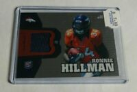 R27,452 - RONNIE HILLMAN - 2012 TOPPS CHROME - ROOKIE JERSEY - BRONCOS -