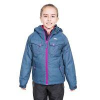 Trespass Girls Ski Jacket Warm Thick Hood Winter Coat Kids 2-12 Years
