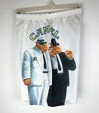 Joe Camel White Fleece Shorts One Size Fits All Vintage 90s Camel Cigarettes New
