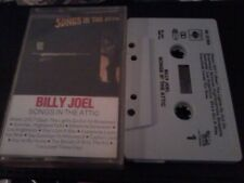 BILLY JOEL Songs In The Attic (Live) music cassette tape POST FREE