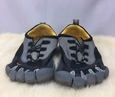 Vibram Five Fingers Gray/Yellow/Blk  Mens Athletic Shoes Size 43 (US 9.5)Running