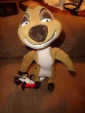 "Lion King Timon Meerkat holding ladybug bug Disney 11"" Stuffed Plush Canasa"