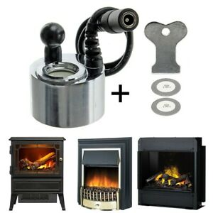 Electric Fire Transducer Glass Disk W/ Tool For DIMPLEX M-011B M011B Heater