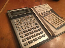 Texas Instruments Ti Slimline Investment Analyst Electronic Calculator