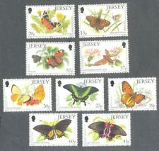 Butterflies-Jersey 2 sets mnh 1991 & 1995-Insects
