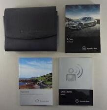 Owner's Manual + Wallet Mercedes Benz C-Class Coupé Typ 205 C 180 ... von 2014