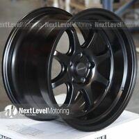 35 Wheel GT Premium AV2818855H35BK AVID.1 AV-28 18x8.5 Flat Black 5x114.3