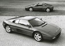 Original Pininfarina Werksfoto Ferrari 348 TS 1990 Foto photo fotografija