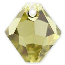 Swarovski Crystal TopDrill Bicone Khaki  Color 6mm. Approx 24 PCS. 6328-6301