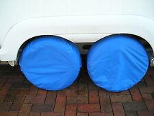 Caravana TAPACUBOS cubiertas de neumáticos, resistente al agua y previene el daño Ultravioleta (par)