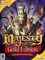 Majesty: Gold Edition Jewel Case (PC, 2002)