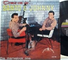 "SANTO & JOHNNY~""COME ON IN""~ORIGINAL 1960 ""VG+""Canadein -LP"