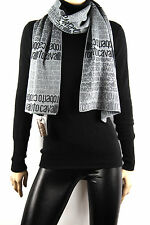 ROBERTO CAVALLI UNISEX SIGNATURE WOOL SCARF NEW & TAGS RETAIL £150 OFFER!
