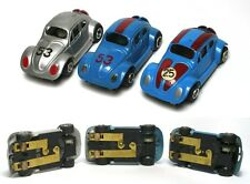 3 VERY Rare 1970s BRAZIL ROTAFAST Cool VOLKSWAGEN VW BUG HO Slot CarS UNUSED A++