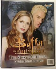 BUFFY THE VAMPIRE SLAYER - The Story Continues Collector Card Album #NEW