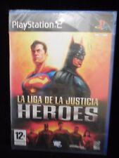 La Liga de la Justicia HEROES videojuego para playstation 2 nuevo y precintado.