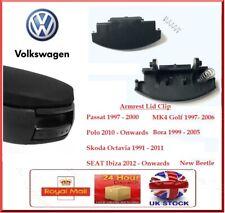 Centre Console Armrest Lid Latch Clip Catch VW MK4 Golf Bora Passat Polo Octavia
