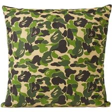 BAPE A Bathing Ape ABC Camo Pillow Cushion - Green