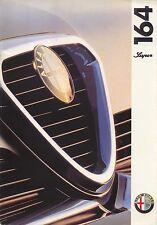 Alfa Romeo 164 Super 3.0 V6 1993-96 Original UK Sales Brochure + Specifications