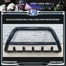 FIT VW TRANSPORTER T5 BLACK BULL BAR AXLE NUDGE PUSH GRILL A-BAR 60mm 2010-2015