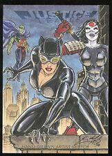 2016 DC Comics Justice League Sketch Card - Eric McConnell