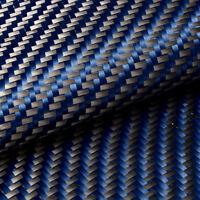 Kohlefasergewebe Carbongewebe Kohlefaser Gewebe 33*30cm Armierungsgewebe Blau