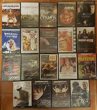 PELICULA DVD PACK LOTE 19 DVDs PRECINTADAS ESTUCHE FINO