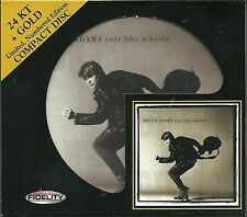 Adams, Bryan Cuts Like A Knife 24 Karat Gold CD Audio Fidelity Limited Numbered