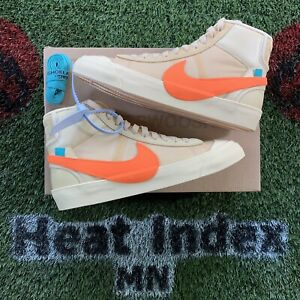 """Nike x Off-White Blazer Mid """"All Hollow's Eve"""" (2018) - Size 8"""