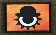 Clockwork Orange Movie Morale Patch Military Tactical Army Flag USA Hook Badge