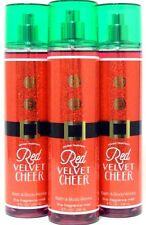 Bath and Body Works Red Velvet Cheer Mist Body Spray x3 (Ships same day!)