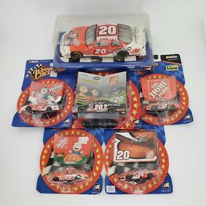 Winners Circle Tony Stewart #20 Coca Cola Polar Bear 1:24 With Extras Lot of 6