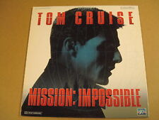 LASERDISC VERSION FRANCAISE / MISSION: IMPOSSIBLE ( TOM CRUISE )