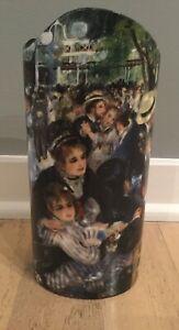 """Renoir Moulin de la Galette Silhouette D'art Beswick 9"""" vase New In box"""