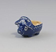Keramik Hackepeter Schwein Schale Schüssel Bürgel Thüringen H 9 cm 99845457