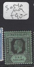 LEEWARD ISLANDS (P1610B)  KGV  1/-  SG 54A   MOG
